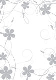 Abstract flowers background Stock Photo