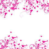 Abstract flowers background Royalty Free Stock Images