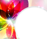 Abstract flowers background Royalty Free Stock Photos