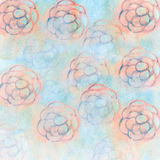 Abstract flowers background. Royalty Free Stock Photography