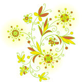 Abstract Flowers background for design Royalty Free Stock Photography