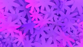 Abstract flowers background in violet and proton purple colors. royalty free stock photography