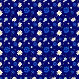 Abstract flowers Cornflowers blue4-01 Stock Photos