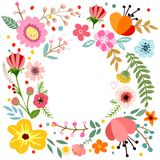 Botanical floral bouquet Royalty Free Stock Photography