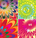 Abstract flowers illustration Stock Photo
