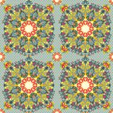 Abstract flowers pattern Royalty Free Stock Photography