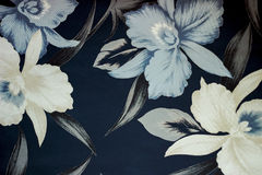 Abstract flowers pattern of clothes Stock Photography