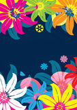 Abstract Flowers And Pond Feel_eps Royalty Free Stock Image