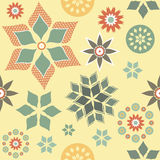 Abstract Flowers Seamless Background Royalty Free Stock Photo