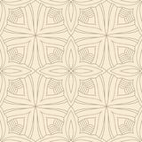 Flower abstract seamless tile pattern Royalty Free Stock Photography