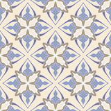Flower abstract seamless tile pattern Royalty Free Stock Photo