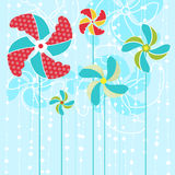 Abstract flowers vector Stock Photo
