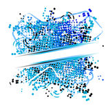 Abstract flowing background Stock Image