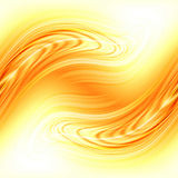 Abstract flowing fire background Stock Photography