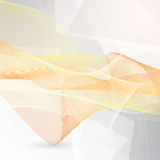 Abstract flowing lines Royalty Free Stock Photo