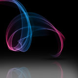Abstract flowing lines background Stock Photo
