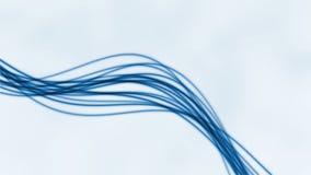 Abstract flowing lines LOOP (2) stock video