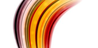 Abstract flowing motion wave, liquid colors mixing, vector abstract background. With light dots effect Royalty Free Stock Photo