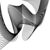 Abstract flowing wave design layout vector background Royalty Free Stock Image