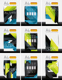 Abstract flyer - brochure templates set Royalty Free Stock Image