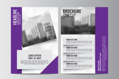 Abstract flyer design background. Brochure template. Stock Photo