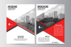 Abstract flyer design background. Brochure template. Royalty Free Stock Photos