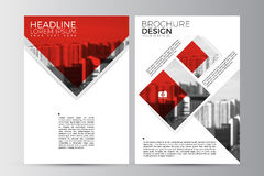 Abstract flyer design background. Brochure template. Stock Image
