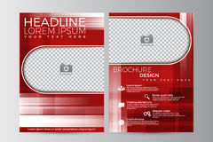 Abstract flyer design background. Brochure template. Royalty Free Stock Photography
