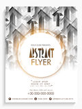 Abstract flyer, template or banner design. Stock Photography