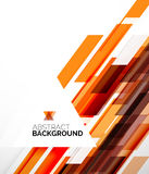 Abstract flyer template design background Stock Photography