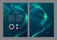 Abstract Flyer Template Stock Photo