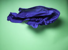 Abstract flying fabric Royalty Free Stock Photos