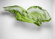 Abstract flying fabric Stock Image