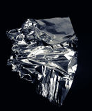 Abstract foil texture. Crumpled background Stock Image