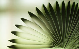 Abstract of fold book pages Stock Photography