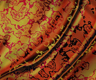 Abstract folded fabric Stock Photos