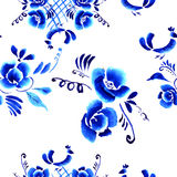 Abstract  folk floral background Royalty Free Stock Photos