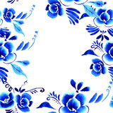Abstract  folk floral background Royalty Free Stock Photography