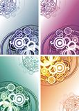 Abstract fon of circles Royalty Free Stock Photo