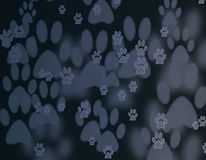 Abstract foot print background Stock Image