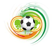 Abstract football Royalty Free Stock Photography