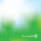 Abstract football background. With green mesh Stock Photo