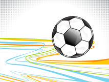 Abstract football background design Stock Image