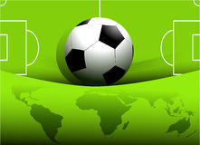 Abstract football background Royalty Free Stock Images