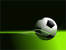 Abstract football background Royalty Free Stock Image
