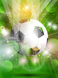 Abstract football background Stock Photos