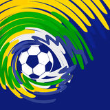 Abstract football background. Vector abstract football design background Royalty Free Stock Images