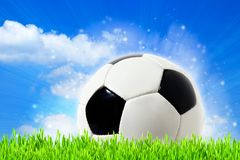Abstract football backgrounds Royalty Free Stock Photos