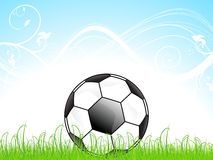 Abstract football concept Stock Photo