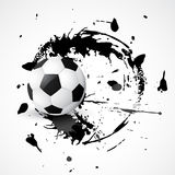 Abstract football design Royalty Free Stock Image
